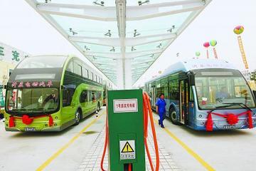 江苏扬州新能源车充换电价格政策公布 公交充电每度0.89元