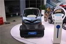 一微米一世界 浙江立通新能源E28微型电动车首次亮相
