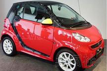 奔驰在日推米奇smart电动车 40台限量版