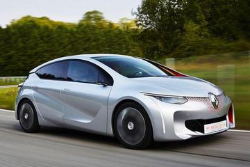 雷诺Eolab插电混动概念车巴黎首发 百公里油耗0.8L