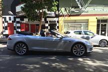特斯拉Model S敞篷版 现身美国街头