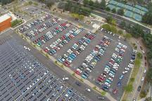 507辆电动汽车欢聚美国加州  新吉尼斯世界纪录诞生
