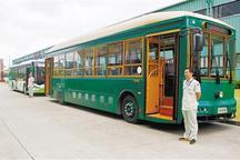 北京首条纯电动观光巴士线路投运 三友化工沾光电动车红利
