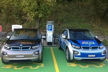 警务通勤 宝马i3电动版被用作瑞士警车