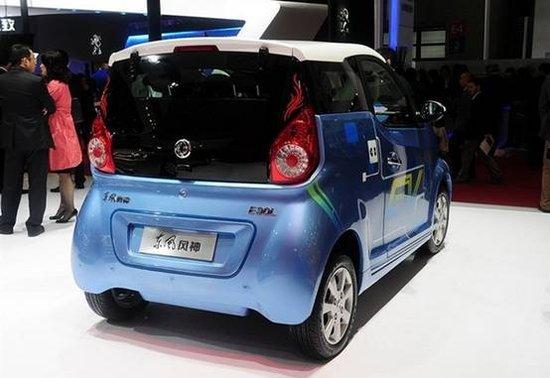 风神E30L电动车年底上市 补贴后售约10万
