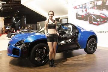 Venturi America电动车首发亮相2014巴黎车展