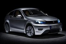 轻量化电动汽车亮相 总重450kg 续航160km