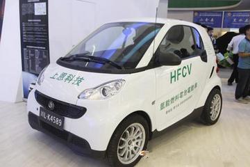 """""""乐山造""""氢能燃料电动汽车亮相西博会"""