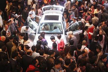 广州车展首次举办电动车展 将展出60辆新能源汽车