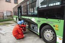 浙江省内首个县级城市启用纯电动绿色公交车