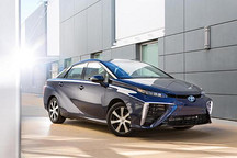 丰田量产燃料电池车Mirai发布 售价720万日元