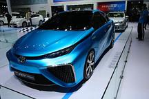 丰田FCV燃料电池概念车广州车展国内首发亮相