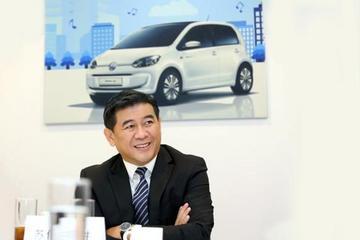 苏伟铭:大众汽车electric up!电动车11月上市 售价26.88万元