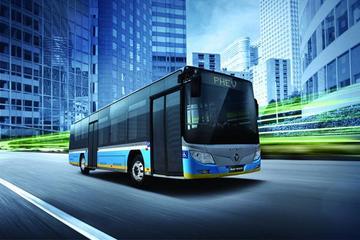 [2014中国年度绿色汽车]北汽福田欧辉BJ6123并联气电混合动力客车
