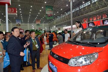 时风D102电动汽车成为国际农机展新亮点
