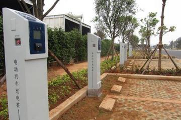 四川泸州市首批新能源汽车充电桩将增加至30个