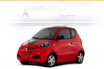 2014中国年度绿色汽车]众泰·时空E20纯电动汽车