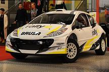 赛场未来趋势 实拍四驱电动版拉力赛车