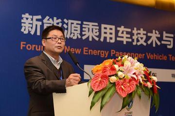 奇瑞新能源汽车有限公司总经理 刘心文
