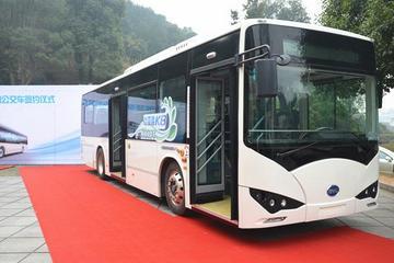 比亚迪获长沙400辆电动大巴订单 累计销量近2500辆