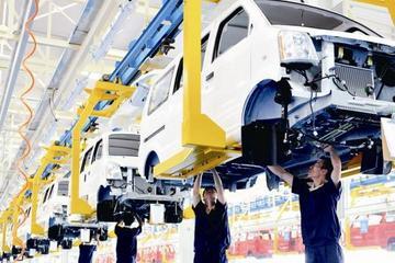 年产20万辆 山西吉利新能源汽车生产线试运行