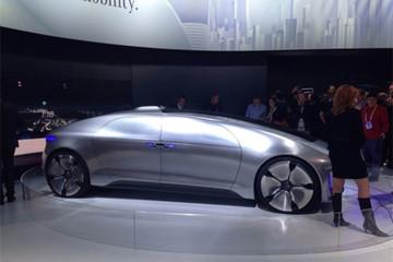 奔驰发布F 015 Luxury in Motion自动驾驶概念车
