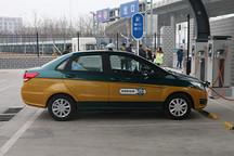 揭秘北京市区电动出租车
