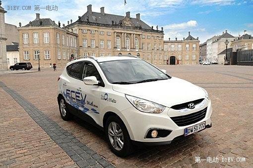 现代ix35燃料电池车狂降43% 迎战丰田Mirai