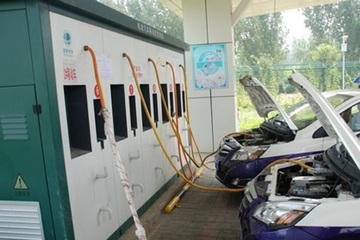北汽新能源打造三网融合充电平台