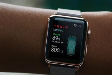 Apple Watch监控特斯拉  打造智能电动车
