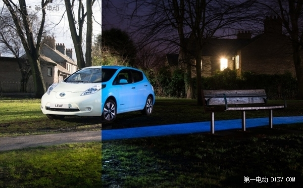 """日产将推""""夜光""""汽车 将用于聆风电动车"""