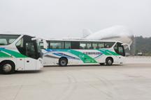 比亚迪C9电动客车投入运营 续航超300km