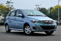 北京市首次举办电动汽车品牌对比试驾