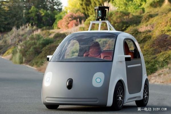 谷歌自动驾驶试验车