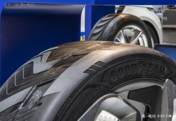 脑洞大开 固特异新轮胎能为电动车充电增加续航