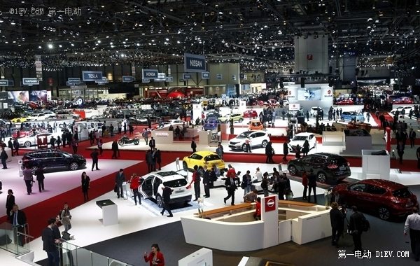 日内瓦车展:电动车越发高大上 智能科技惊爆眼球
