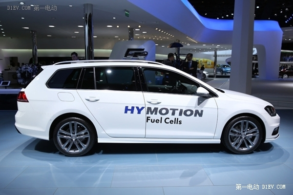 续航500公里 大众高尔夫SportVariant HyMotion燃料电池车国内首发