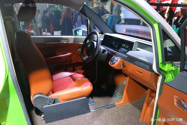 猛狮科技携首款纯电动汽车亮相上海车展
