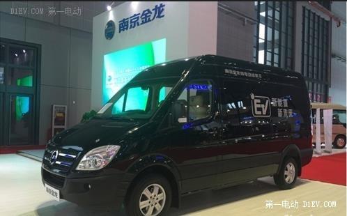 电动轻客成上海车展一大亮点