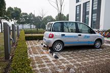 扬州公布国内首个新能源车停车费标准 1小时免费/之后半价
