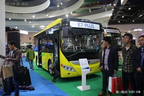 宇通E7plus纯电动巴士