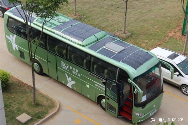 南京金龙太阳能电动客车