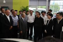 国务院副总理马凯一行专程考察德和科技的星星充电项目