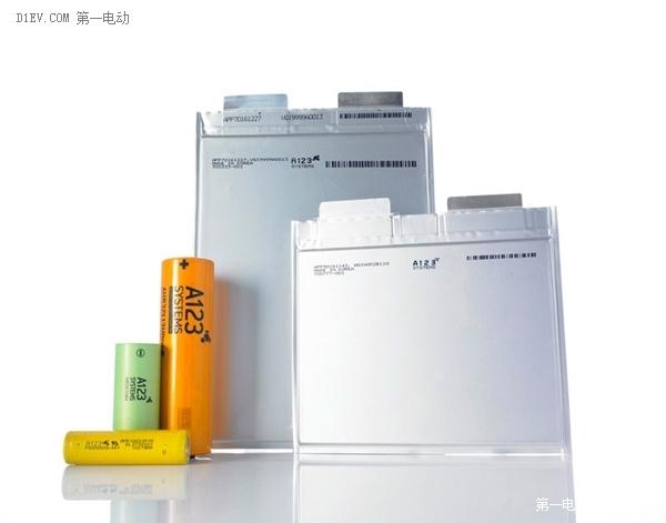 抗衡特斯拉比亚迪 A123欲将电池产能翻番至1.5GWh