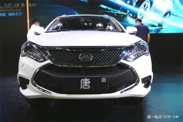 深港澳车展:比亚迪唐上市售27.98-51.88万