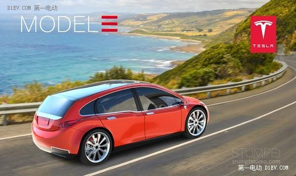 特斯拉Model 3平民电动车增加跨界版 预计售价45000美元