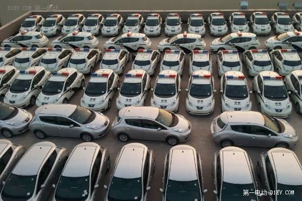 河南公安系统批量采购150辆晨风电动汽车