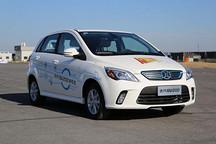 北汽新能源总工程师陈平详解车型战略 国民车瞄准微型电动汽车市场