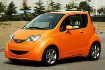 海马微型电动车明年将上市 竞争奇瑞eQ