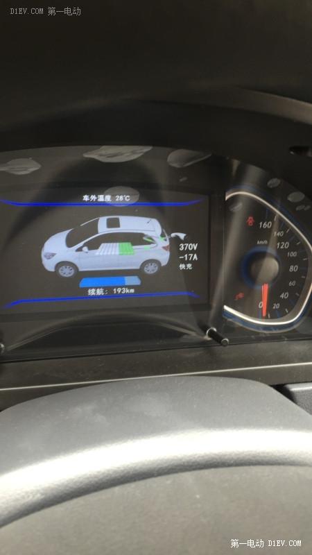 北汽EV200快慢充电数据/飞线工程多图技术攻略